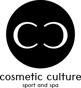 Cosmetic Culture Sport and Spa Logo; one of the new stores coming soon to the District on Bernard